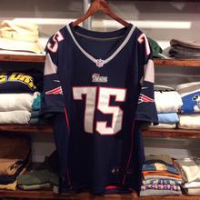"NIKE NFL Patriots ""WILFORK 75"" hockey shirt (L)"