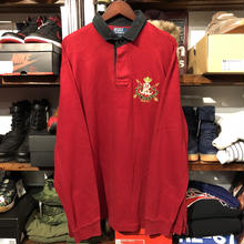 POLO RALPH LAUREN half button emblem (XL)
