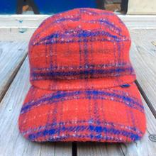 Stussy  wool 5 panel cap(Red)