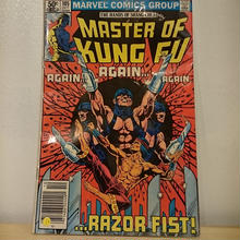 "MARVEL COMICS""MASTER OF KUNG FU""(10)"