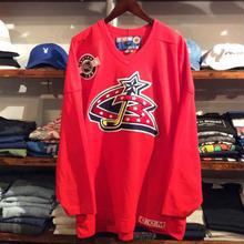 COLUMBUS  BLUE JACKETS  hockey shirt(XL)