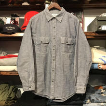 POLO JEANS dungree denim shirt (M)