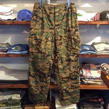 Military digital camo cargo pants