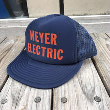 WEYER ELECTRIC mesh cap