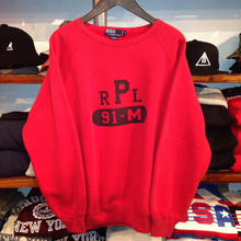 "POLO RALPH LAUREN ""91-M"" logo crewneck sweat"