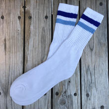 【deadstock】nobrand line sox (Navy/Blue 25~28cm)