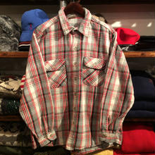 FIVE BROTHERS check shirt (L)