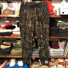 adidas originals × white mountaineering fleece zip up Jersey pants (M)