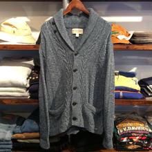 DENIM&SUPPLY shawl collar cotton cardigun(S)