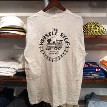 THE WHISTLE STOP pocket tee(L)