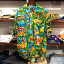 JAMS WORLD aloha shirt(M)