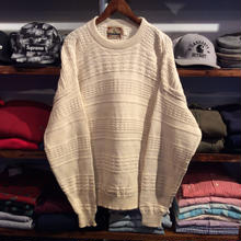 C.J.COTTON middle gauge sweater (L)