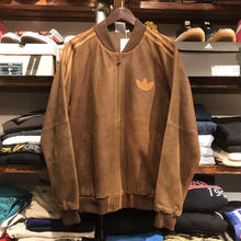 【exclusive】adidas Sheep leather jacket (L)