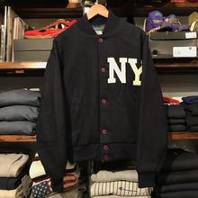 "American Pastime ""NY"" wool stadium jacket (M)"