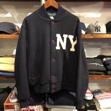 American Pastimes NY wool stadium jacket(M)
