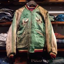 【vintage】reversible suvenir jacket (50-60's)