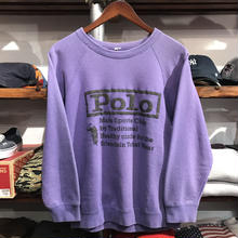 Bootleg POLO logo sweat (M)
