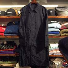 Miritary stand fall collar coat
