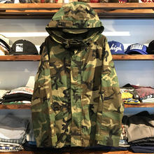 Military camo GORE-TEX nylon jacket (L)②