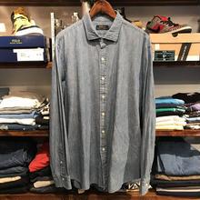 POLO RALPH LAUREN  denim shirt (XL)