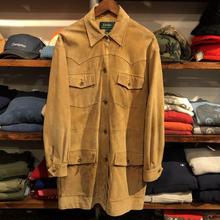 LAUREN by RALPH LAUREN nubuck leather coat(L)