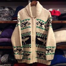 nobrand eagle cowichan sweater
