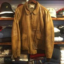 BANANA REPUBLIC leather jacket (XL)