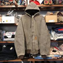 Carhartt full-zip duck hoodie