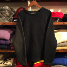 68&BROTHERS 2tone boat neck sweater(M)