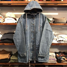 Trader Bay denim hoody jacket (L)