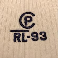 "POLO RALPH LAUREN ""RL-93"" rib knit (M)"