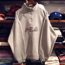 FILA half zip sweat (XL)