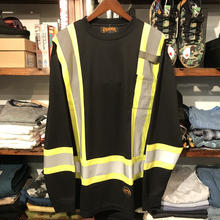 【dead stock】PIONEER safety Reflector L/S tee (L)