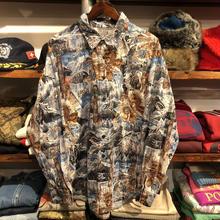 nobrand Alaska print shirt