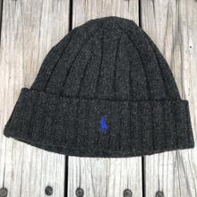 POLO RALPH LAUREN small pony knit cap (Heather Black)