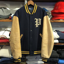 POLO RALPH LAUREN P wappen stadium jacket(L)