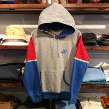 NIKE 80's tricolore sleeve hoody(M)
