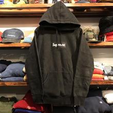 "Supreme ""BOX LOGO"" hoody(Black)"