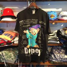 """Disney """"DOPEY"""" tee (Black)"""