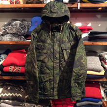 POLO RALPH LAUREN quilted camo jacket(M)