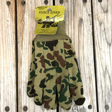 CAMOUFLAGE JERSEY FLEECE LINED camo gloove
