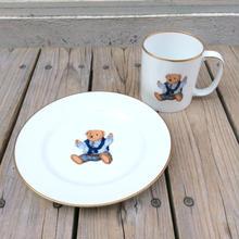 "POLO RALPH LAUREN ""POLO BEAR"" mugcup plate set"