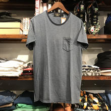 RRL pencil stripe pocket tee (M)