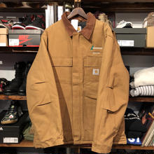 Carhartt duck quilting company jacket