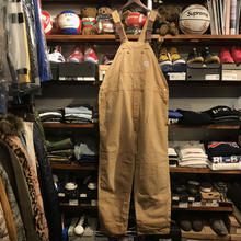 Carhartt patch work overall