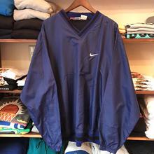 Bootleg NIKE×Rawlings swoosh nylon jacket (XXL)