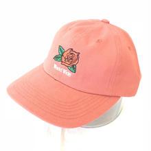 BUTTER GOODS 7 PANEL CAP - RED