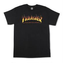 THRASHER BBQ TEE - BLACK