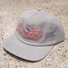 CHOCOLATE SKATEBOARDS SCRIPT CORD CAP BLACK