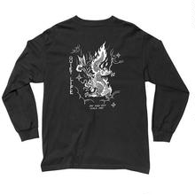 THE QUIET LIFE BRING ME DOWN LONG SLEEVE T-BLACK